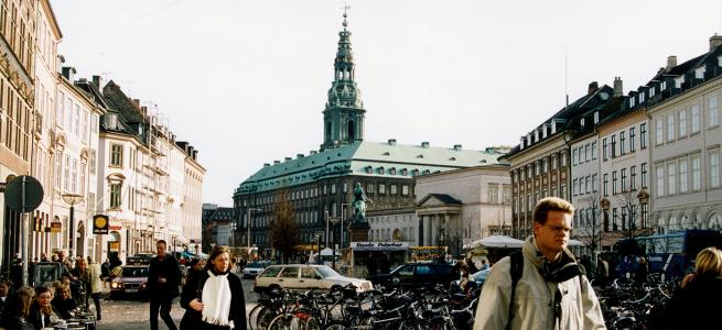 Christiansborg - Colourbox