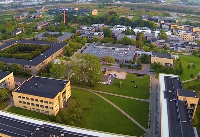 Campus overview - birds perspective
