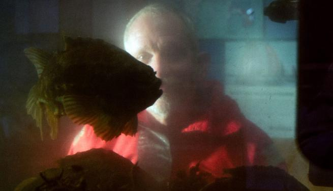 Benni Winding Hansen at aquarium