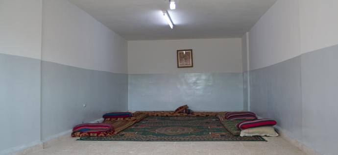 Light in a Jordanian room